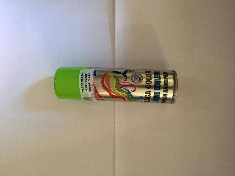 Laca spray verde claro 125ml xiomara