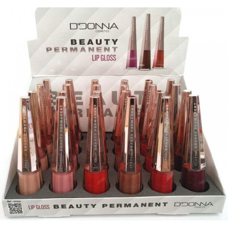 Lipgloss permanent beauty 24/u ddona