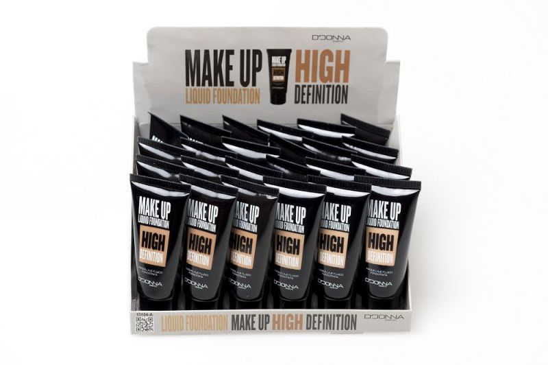 Maquillaje fluido high definition 24/u d