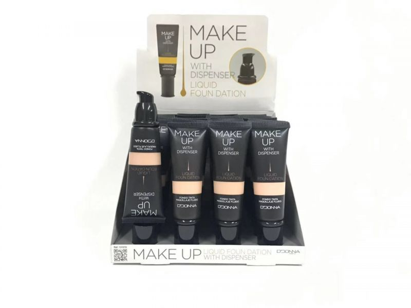 Maquillaje fluido make up 24/u d´donna 1