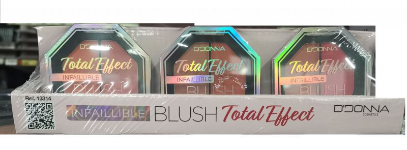 Total effect infalible blush 24/u donna 13314