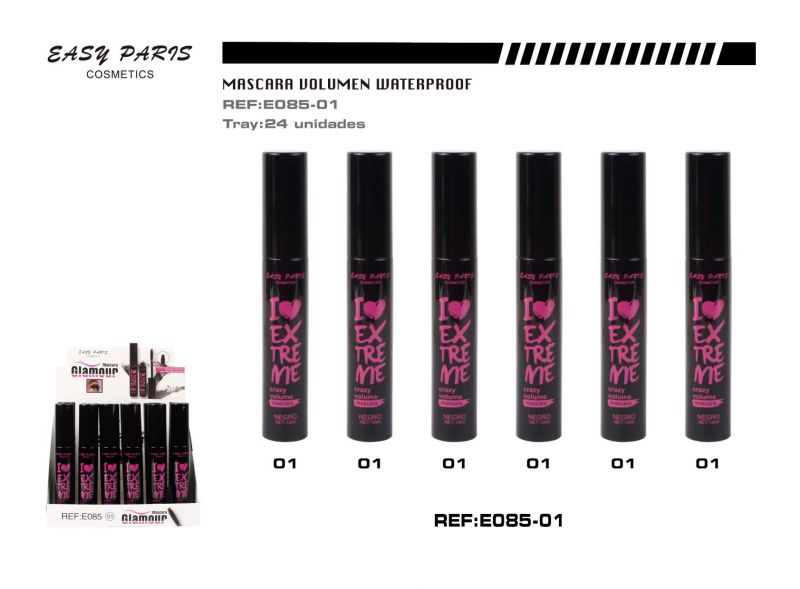 Mascara crazy volumen 24/u 288/u