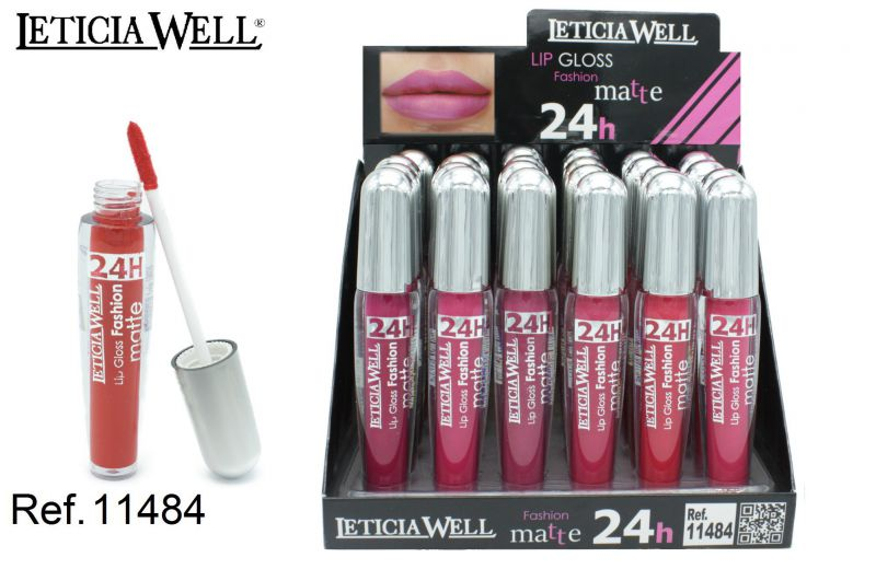LIP GLOSS FASHION MATE 24H 24/U LW 11484