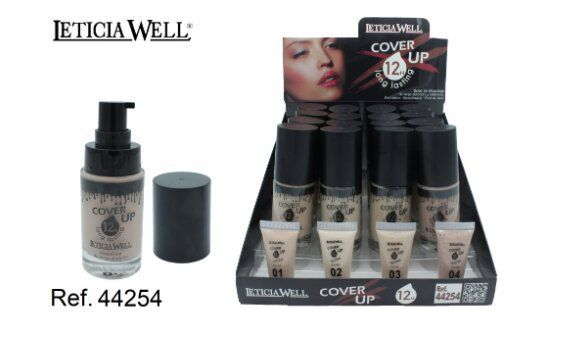 MAQUILLAJE FLUIDO COVER UP 12H 16/U 44254