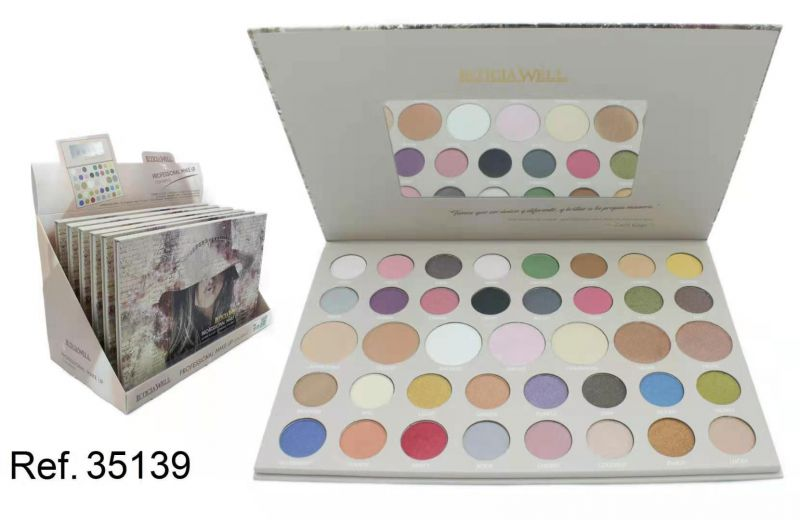 PALETTE PROFESIONAL MAKE UP CON ESPEJO 6/U
